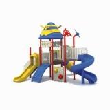 太空儿童滑滑梯WL11080A