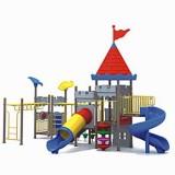 城堡幼儿园大型玩具WL11107A