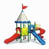 自然幼儿园滑梯WL11128C