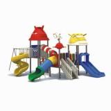 太空儿童滑滑梯WL11078A