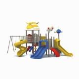 太空儿童滑滑梯WL11079B