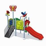 自然幼儿园滑梯WL11128B