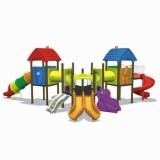 自然幼儿园滑梯WL11125B
