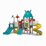 太空儿童滑滑梯WL11079A