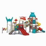 太空儿童滑滑梯WL11076B