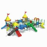 自然幼儿园滑梯WL11124A