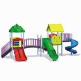 自然幼儿园滑梯WL11126A
