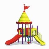 自然幼儿园滑梯WL11127C