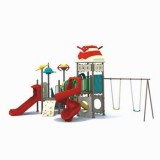太空儿童滑滑梯WL11078B