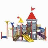城堡幼儿园大型玩具WL11107B