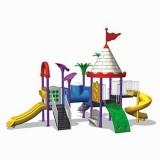自然幼儿园滑梯WL11127A