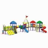 自然幼儿园滑梯WL11124B