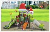 YH-16075B圣诞系列组合滑梯