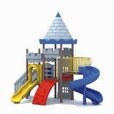 城堡幼儿园大型玩具WL11108A