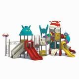 太空儿童滑滑梯WL11076A